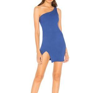 Shina Mini Dress in Colbalt